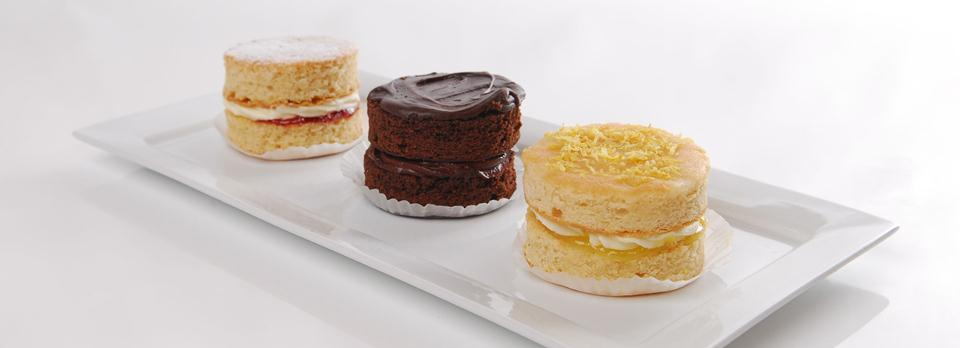 A selection of Individual Cakes